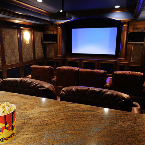 home theater design and installation. beautiful ideas. Home Design Ideas